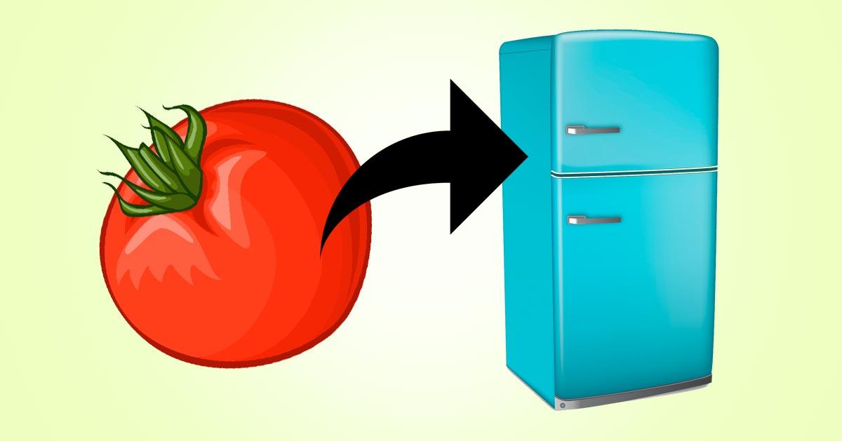 Tych owoców i warzyw nie trzymaj w lodówce