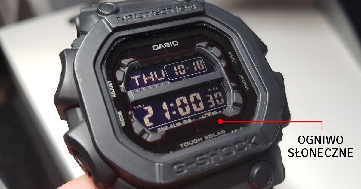 Jak długo trwa ładowanie zegarka G-Shock pod lampką, a jak długo na słońcu?