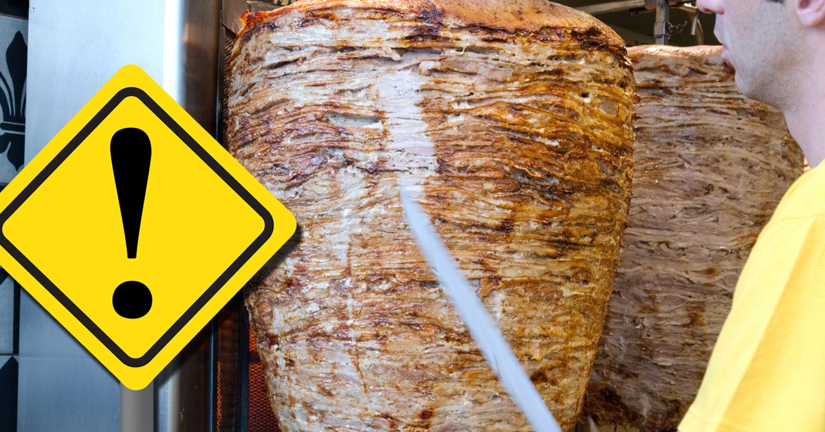 Chcesz zjeść kebaba? Zanim go zamówisz zwróć uwagę na jedną rzecz!