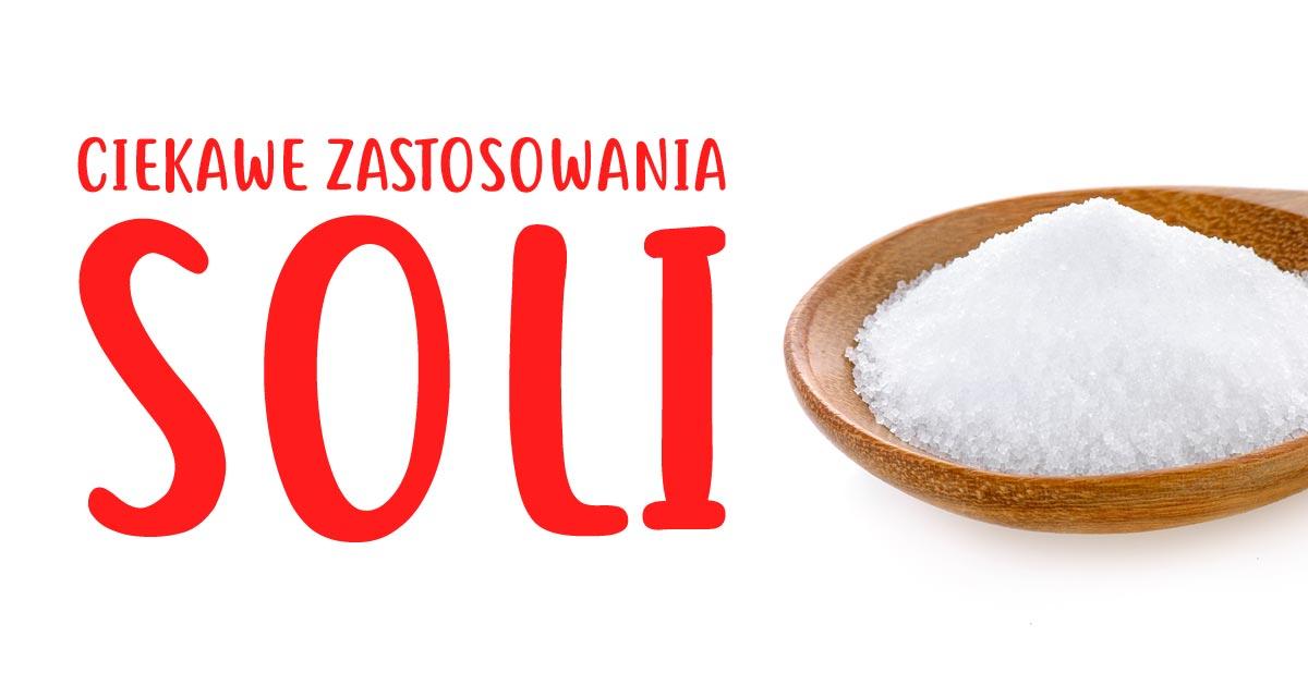 5 ciekawych pomysłów na wykorzystanie soli w domu