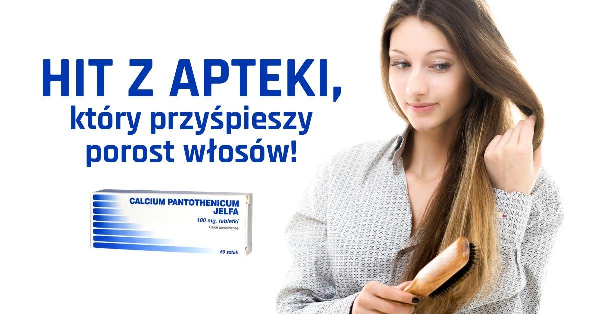 Hit z apteki za 8 zł przyśpieszy porost włosów! Calcium pantothenicum!