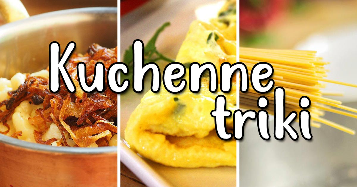 Szybsza karmelizacja cebuli, puszysty omlet czy lepsze gotowanie makaronu. To tylko niektóre z trików, które poznasz!