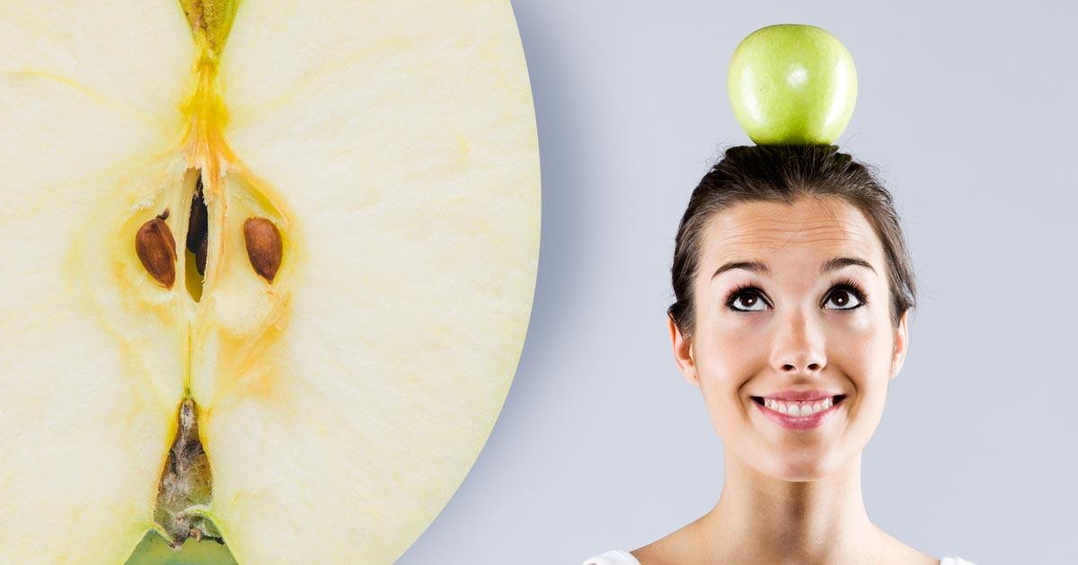 Zamiast zjadać jabłko zrób z nim to, a zadbasz o swoją urodę!