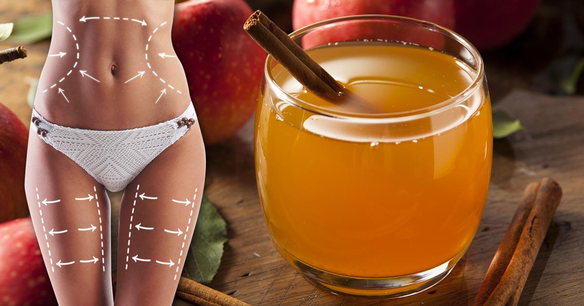Dietetycy rozpisują się na temat tego napoju odchudzającego z octem – wypróbuj go!