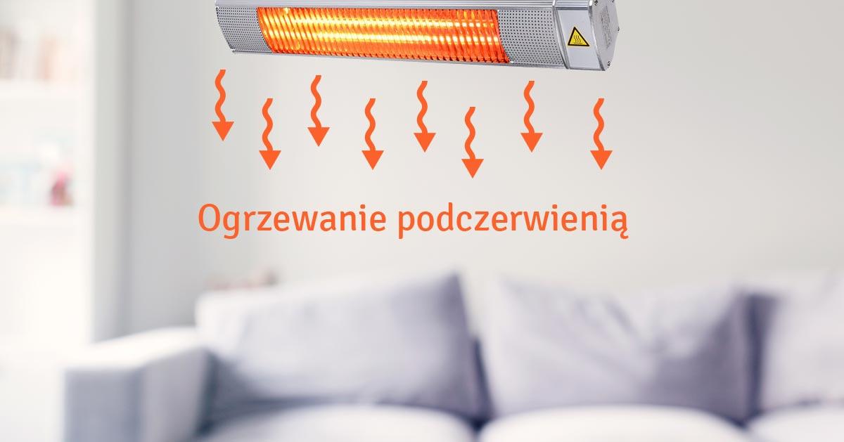 Ogrzewanie podczerwienią. Wady i zalety promiennika podczerwienią.