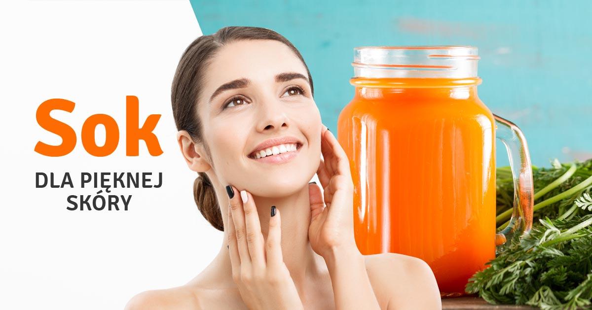 Pij ten sok, a wygląd Twojej skóry się poprawi