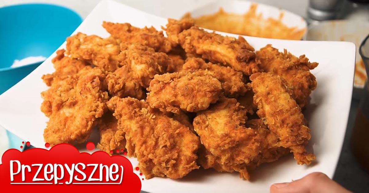 Przepis na STRIPSY jak z KFC