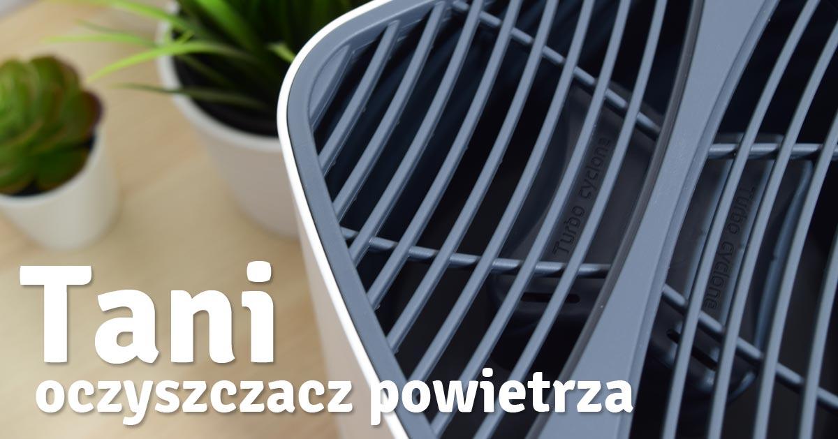 Sposób na tanie oczyszczanie powietrza w domu – tani oczyszczacz powietrza z polskiego magazynu