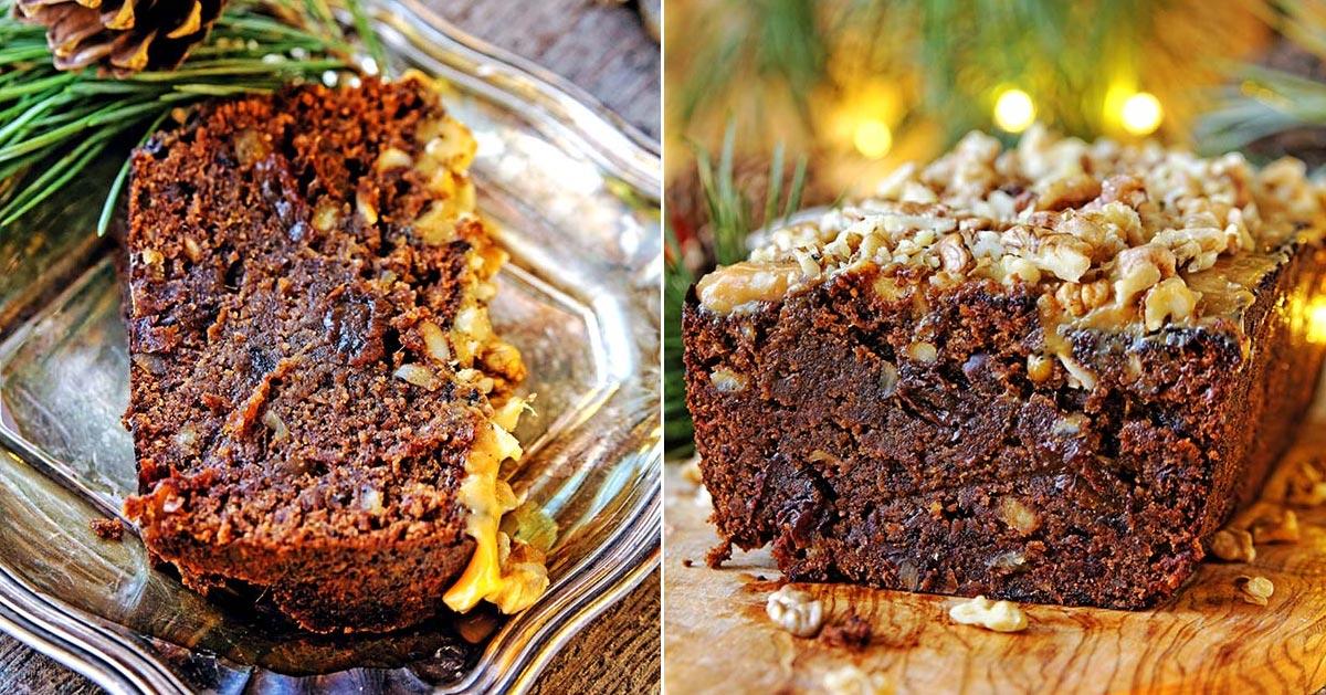 Bezglutenowe ciasto świąteczne