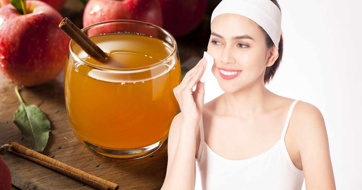 Zobacz dlaczego warto przemyć twarz octem jabłkowym