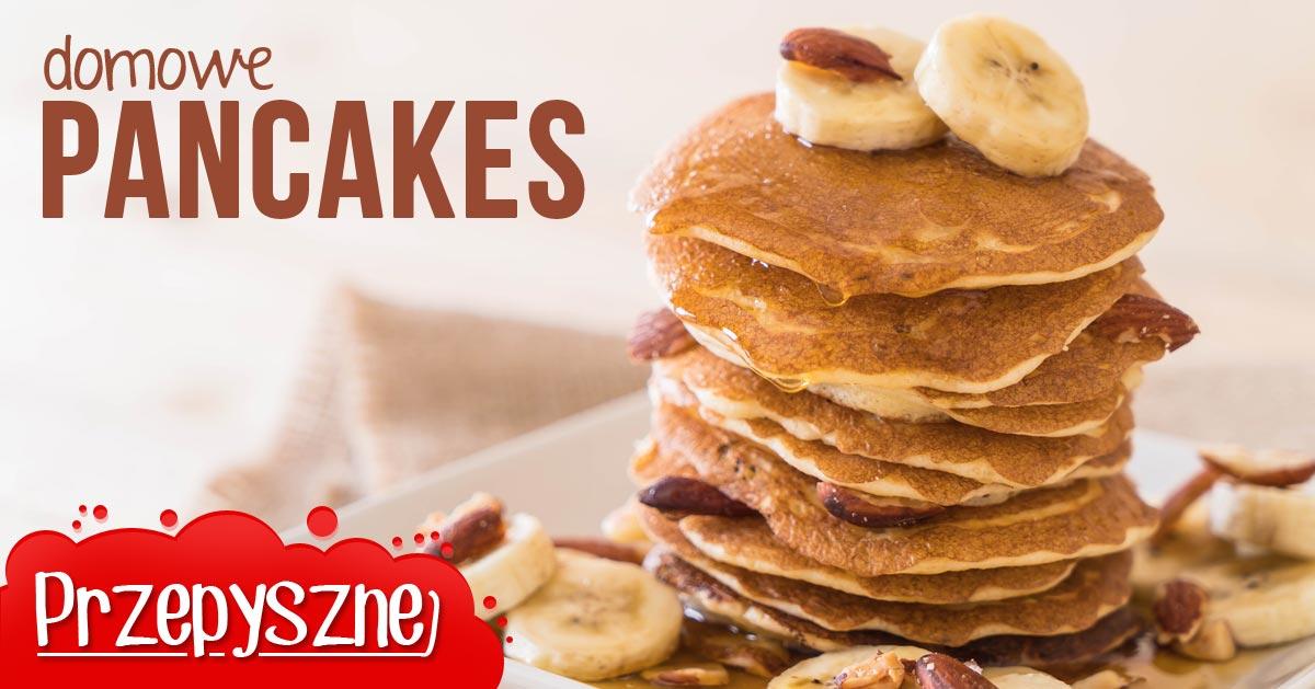 Przepis na domowe pancakes na śniadanie