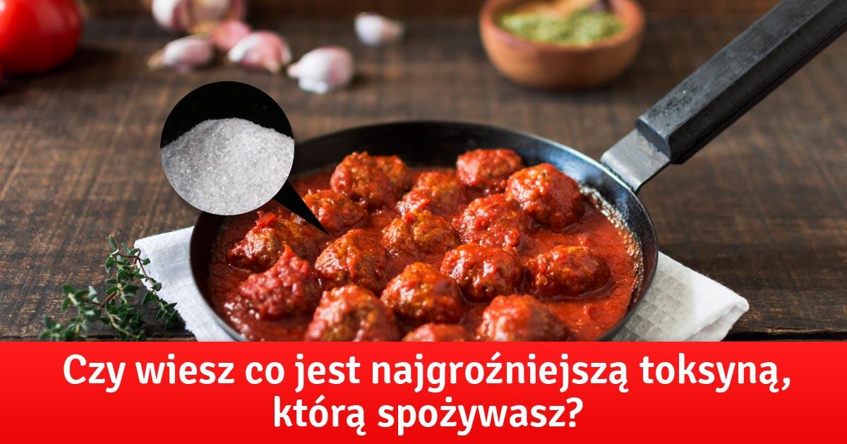 Czy wiesz co jest największą trucizną, którą spożywasz?