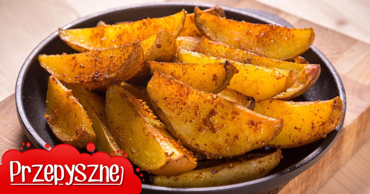 Przepyszne i mega chrupiące pieczone ziemniaczki do obiadu