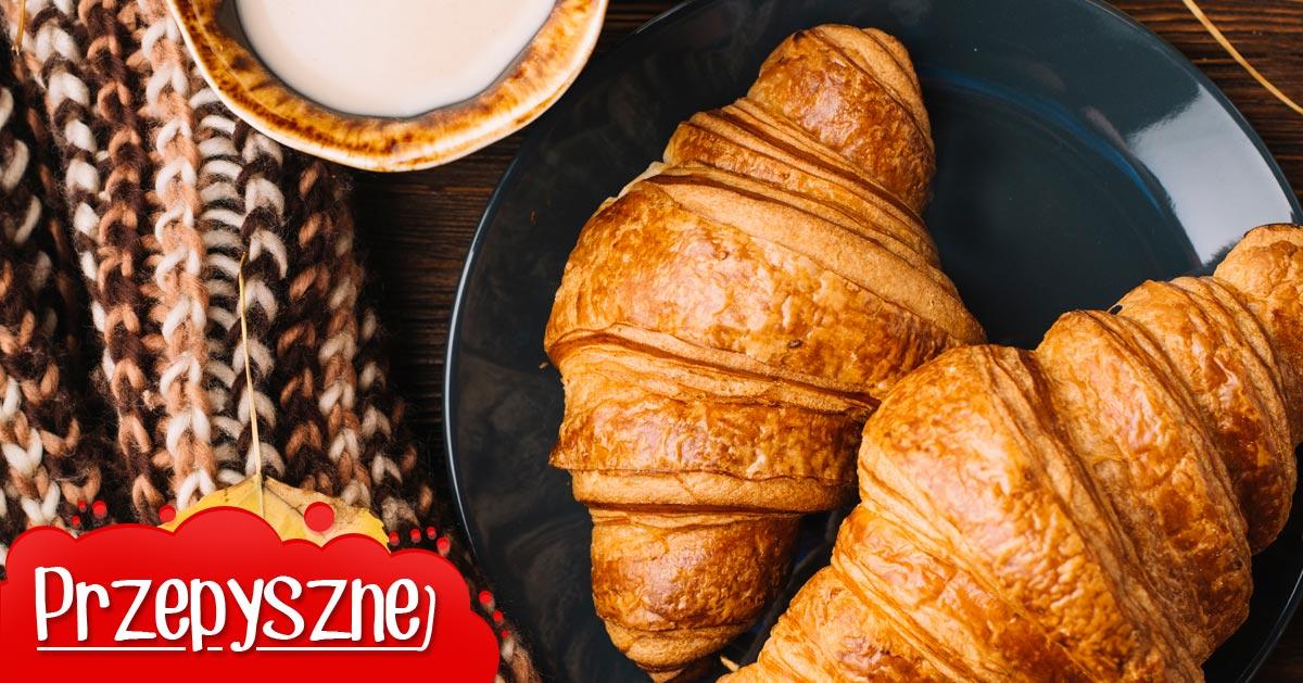 Przepis na croissanty maślane na śniadanie