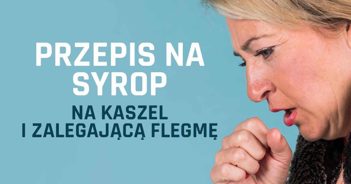 2-składnikowy syrop, który pomaga usunąć flegmę z płuc i zatrzymać kaszel
