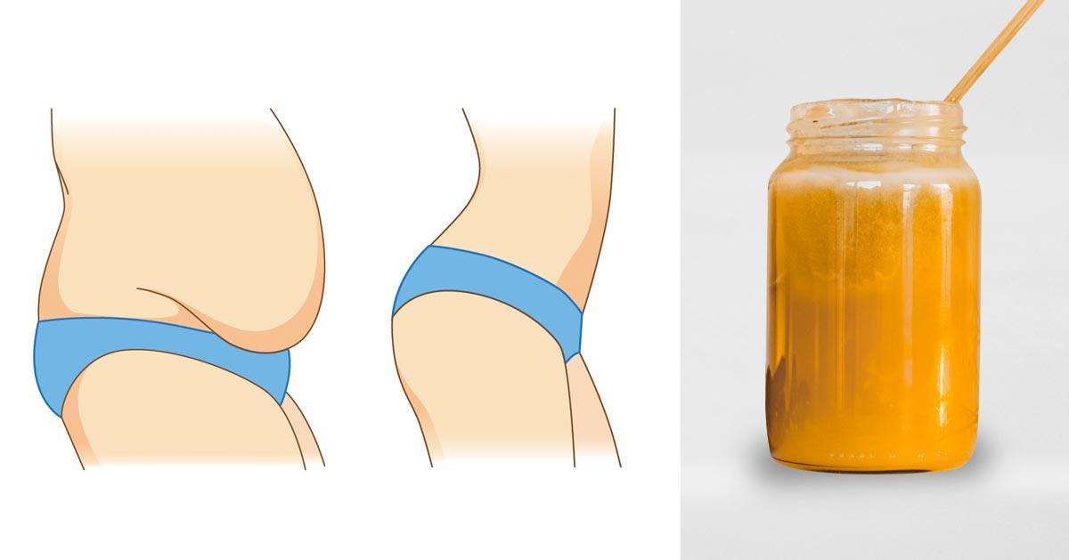 Ten napój pity codziennie pomaga zmniejszyć brzuch!
