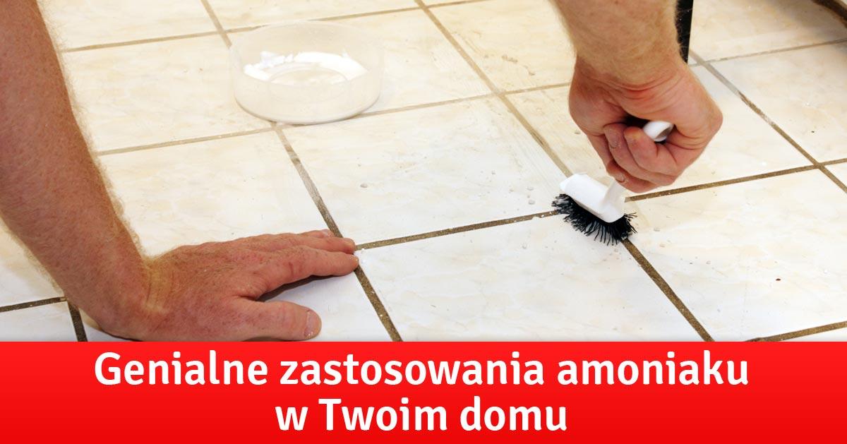 Genialne zastosowania amoniaku w Twoim domu