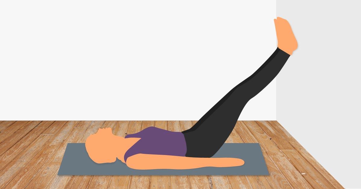 Połóż się na plecach i oprzyj stopy o ścianę. To wiele powie o Twoim zdrowiu!