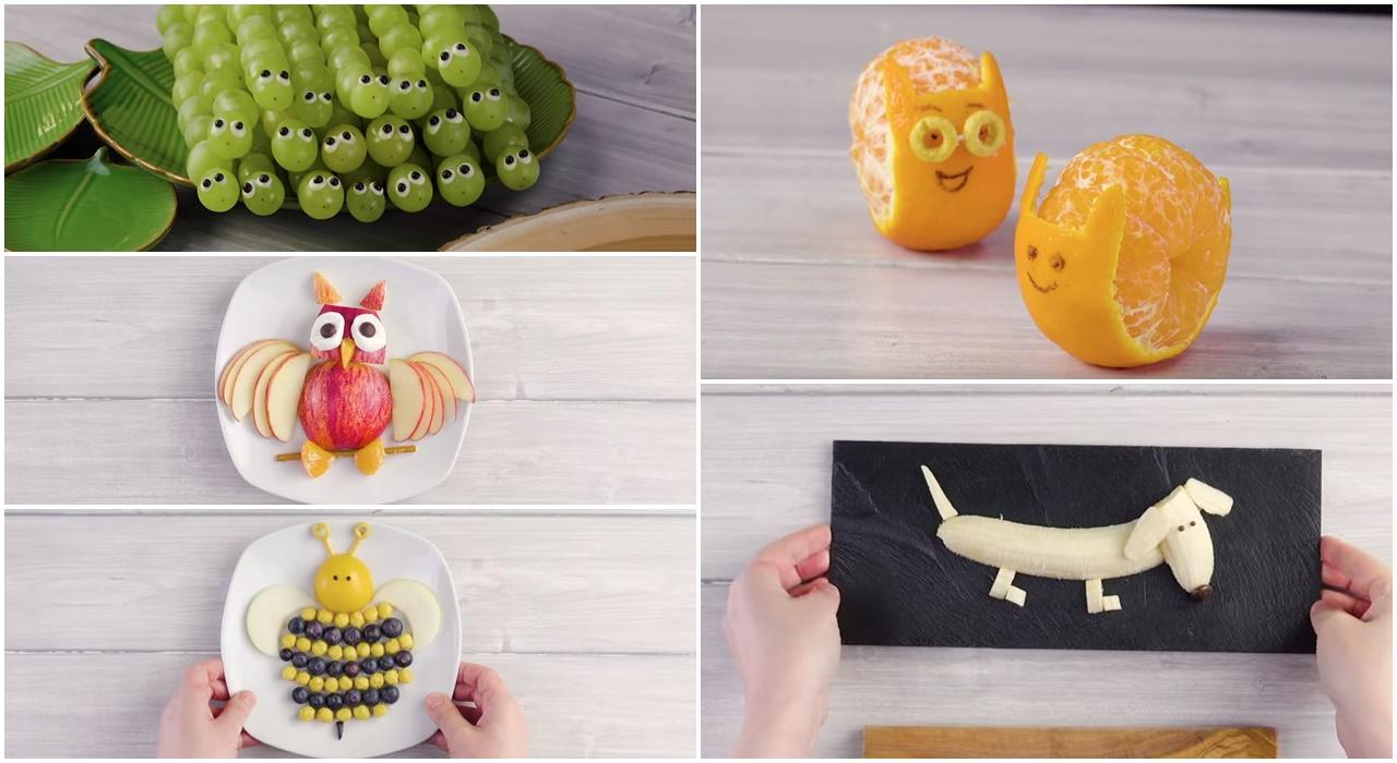 Jak zachęcić dziecko do jedzenia owoców czyli zabawne owocowe przekąski