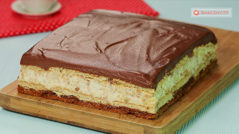Przepis na ciasto KINDER BUENO bez pieczenia