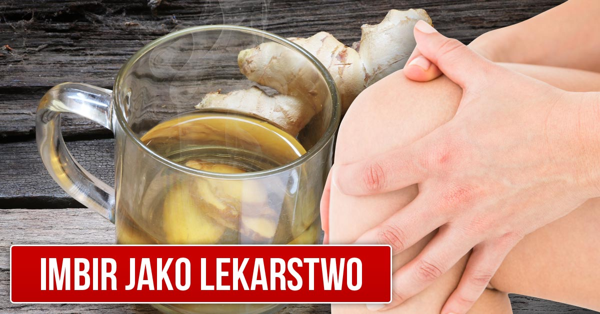 5 dolegliwości, na które pomoże Wam picie naparu z imbiru!
