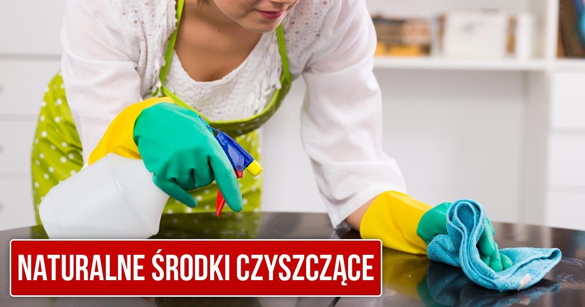 5 naturalnych środków czystości, które pomogą Ci w sprzątaniu domu!