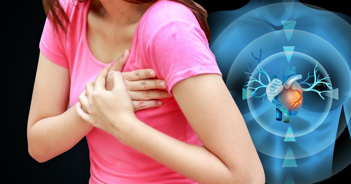 6 objawów zawału serca, które występują silniej tylko u kobiet!