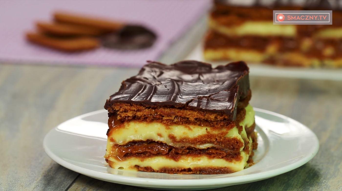 Niesamowicie smaczne ciasto bez pieczenia