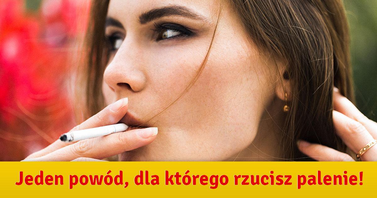 Palisz papierosy? Oto jeden powód, który może Cie przekonać do rzucenia!