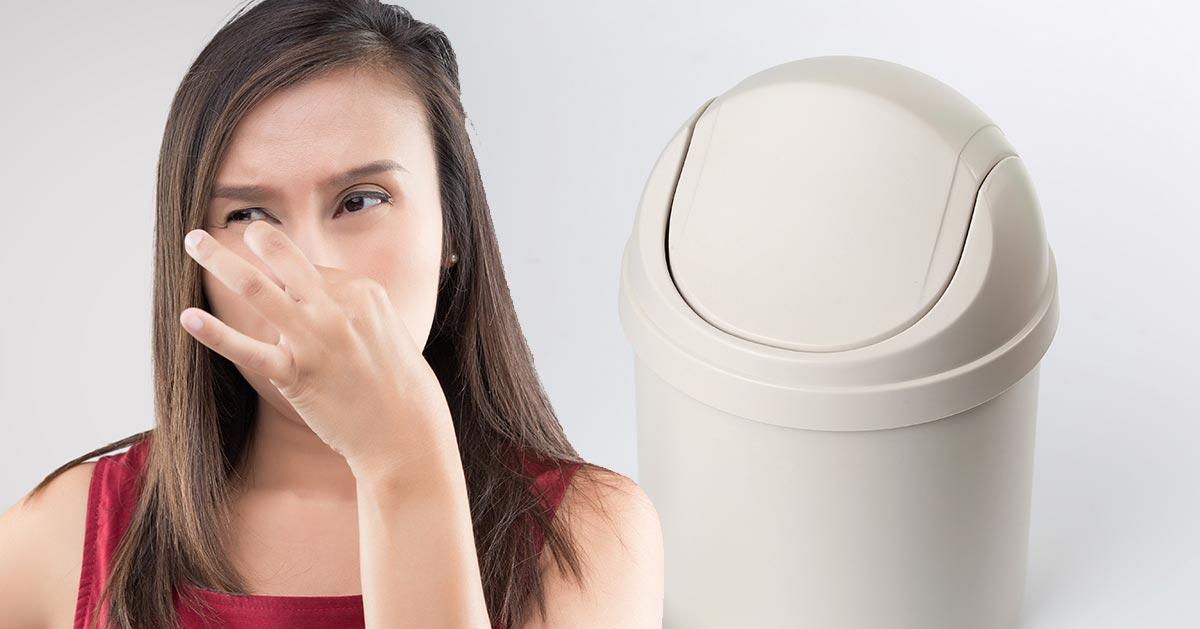 Jak szybko zabić brzydki zapach z kosza na śmieci