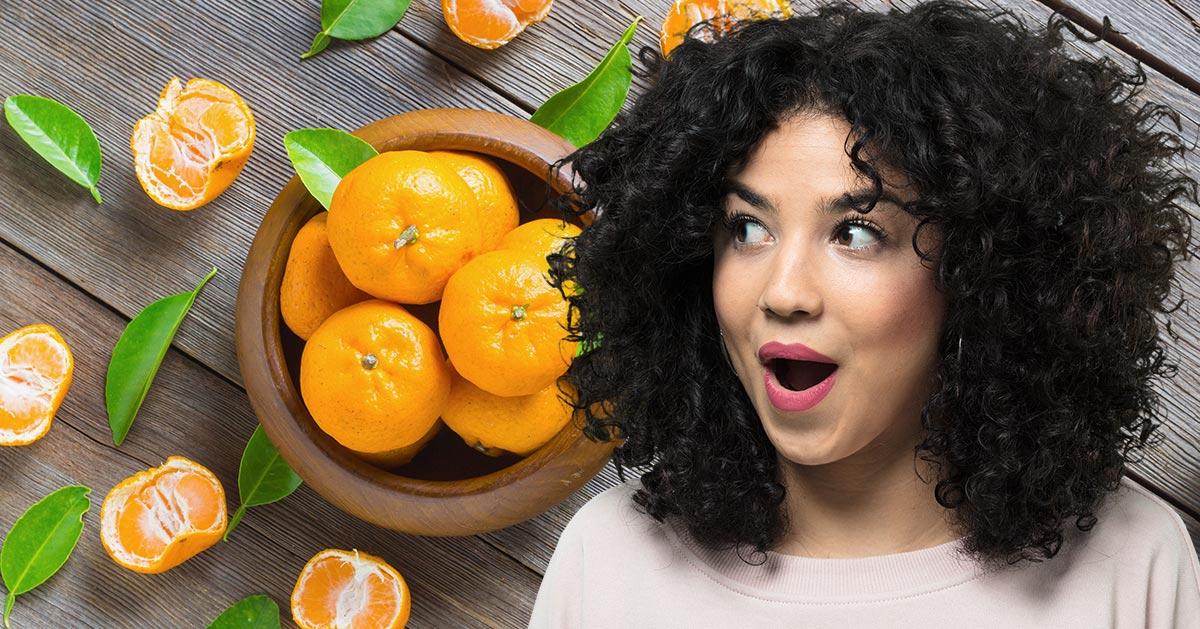 Jedz mandarynki, dzięki nim będziesz wolniej się starzeć!