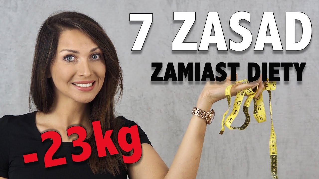 Chcesz schudnąć 23 kg? Wprowadź te 7 zasad zamiast rygorystycznej diety!