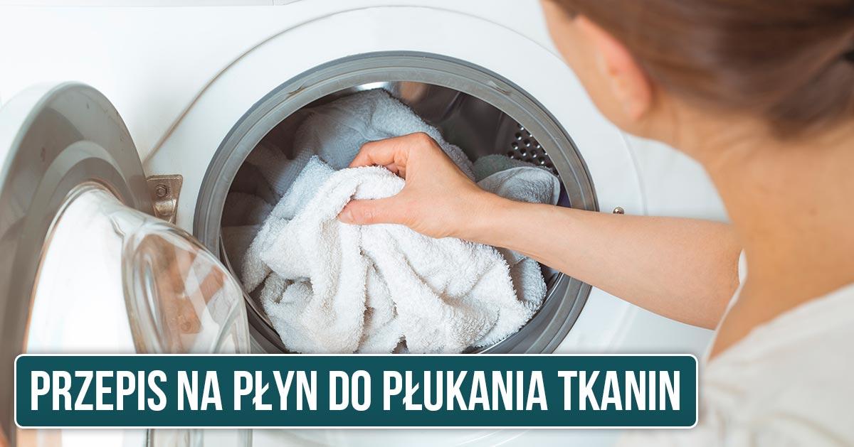 Przepis na płyn do płukania tkanin