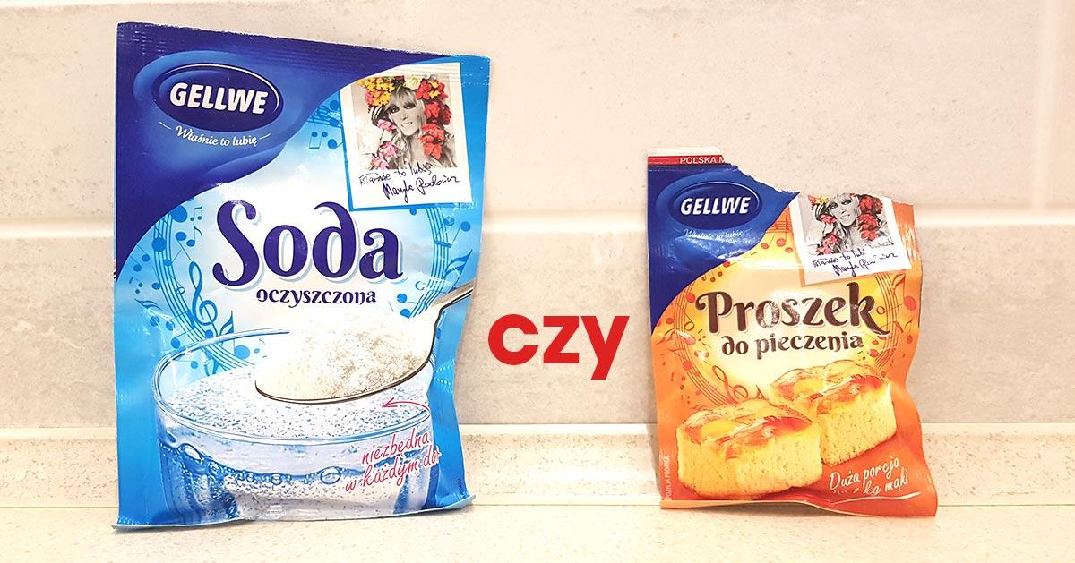 Soda oczyszczona czy proszek do pieczenia? Czym się różnią?