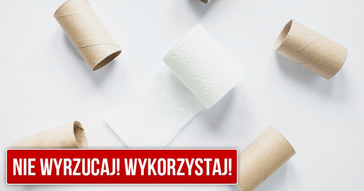 10 pomysłów na wykorzystanie rolek po papierze toaletowym. Nie wyrzucaj ich!