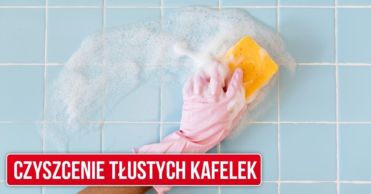 Domowy sposób na wyczyszczenie tłustych płytek w kuchni