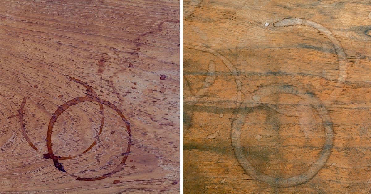 Jak usunąć plamy z drewna