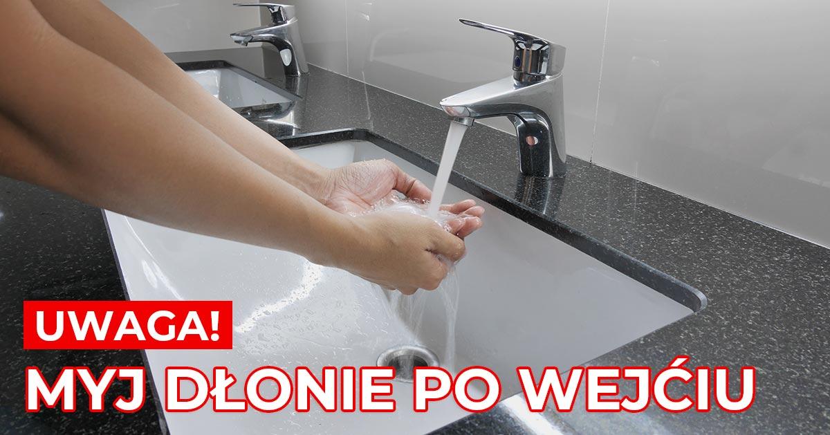 Wchodzisz do publicznej toalety? Umyj najpierw ręce i jeszcze raz gdy wychodzisz. Zobacz dlaczego!