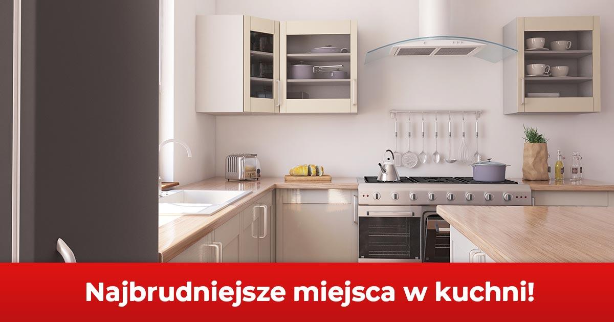 To są najbrudniejsze miejsca w kuchni – sprzątaj je częściej!