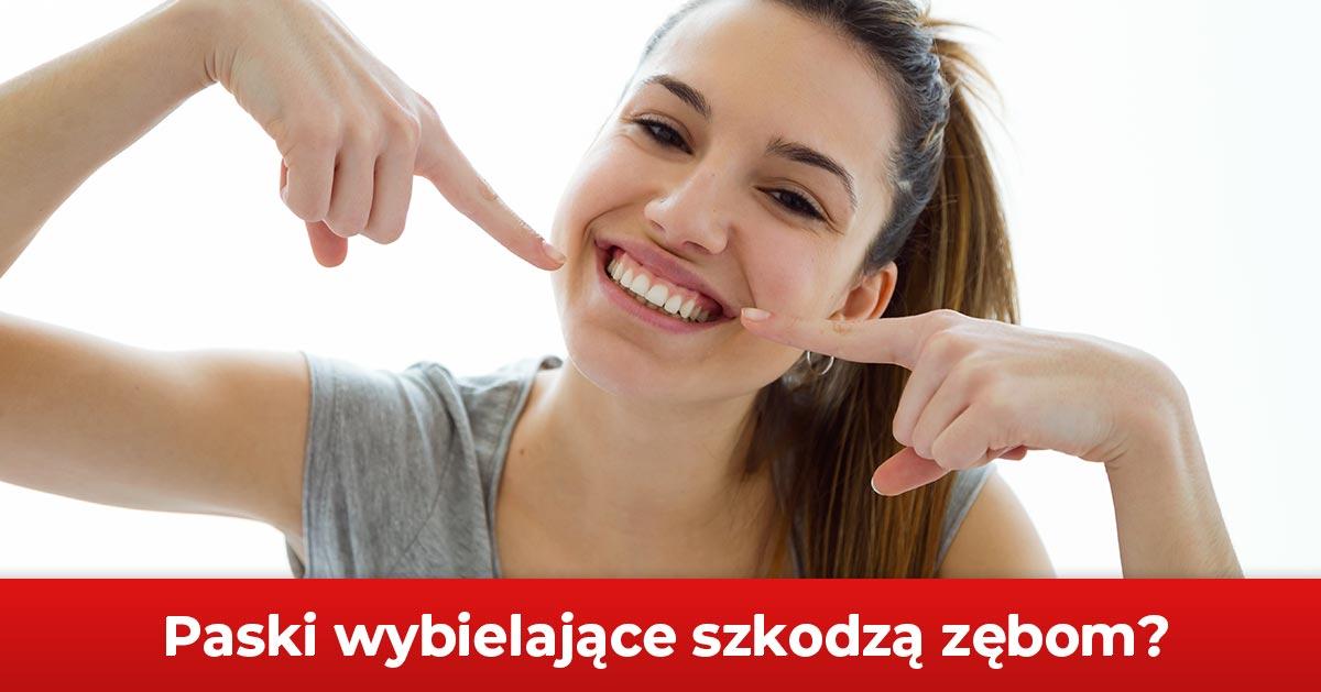 Używasz pasków wybielających? Możesz mieć problemy z zębami!