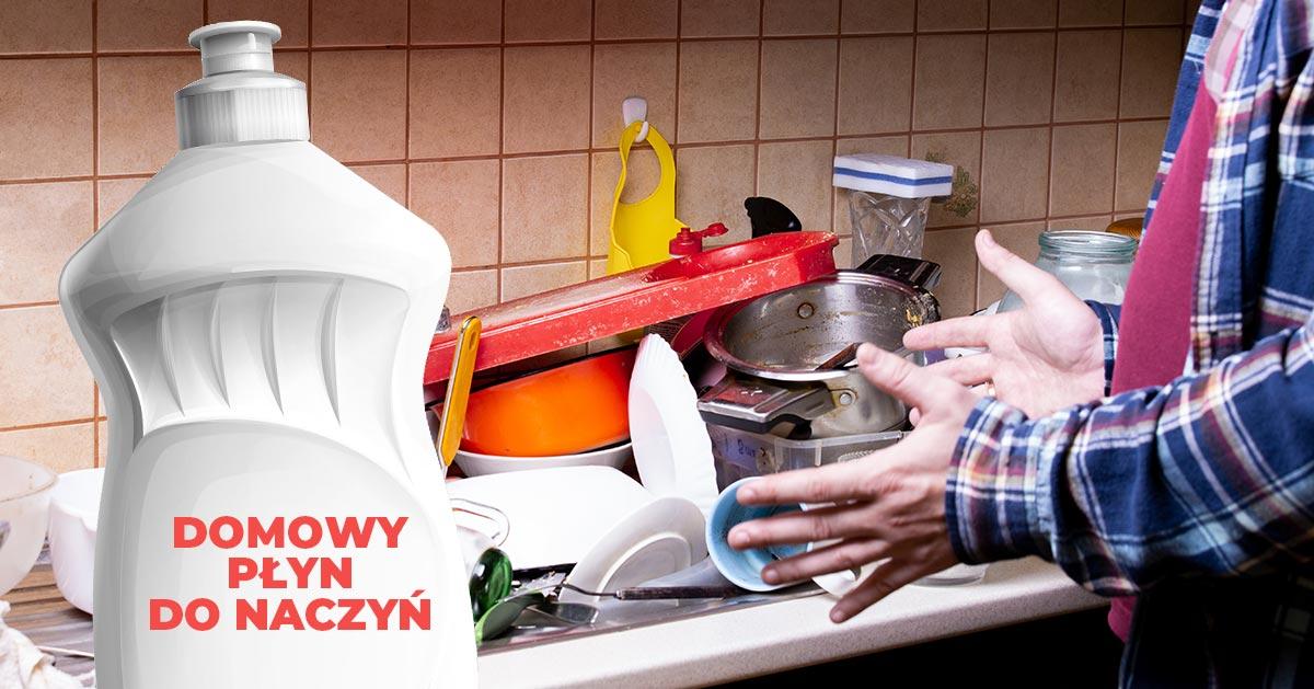 Przepis na domowy płyn do mycia naczyń – zrób go sama!