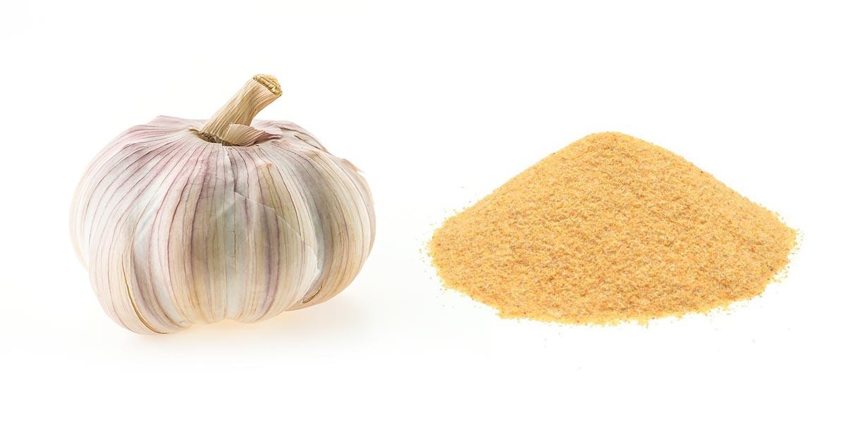 Czym różni się świeży czosnek od czosnku w proszku?