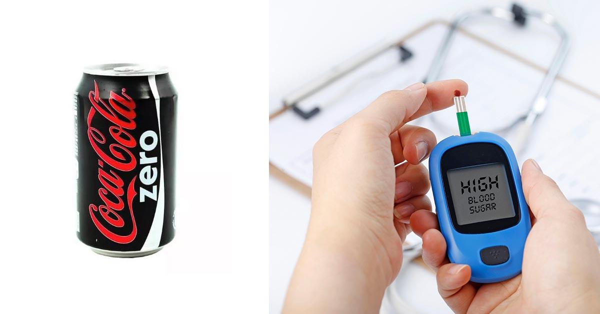 Co Coca Colę Zero mogą pić osoby z cukrzycą?