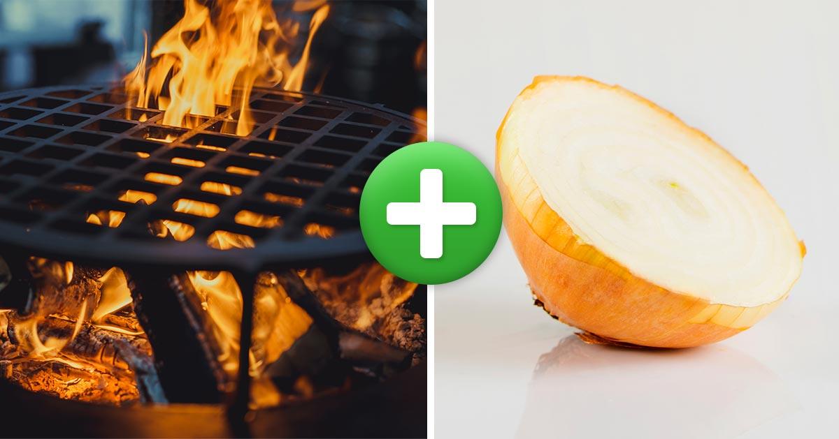 Jak wyczyścić grilla za pomocą cebuli