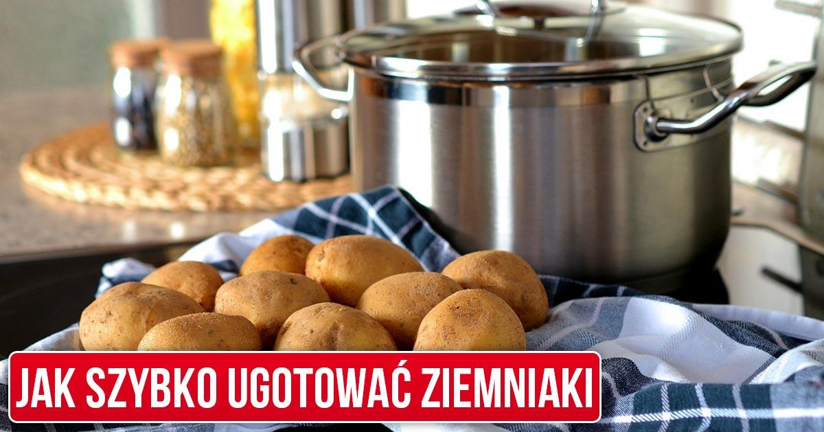 Jak szybko ugotować ziemniaki w 10 minut zamiast 30 minut