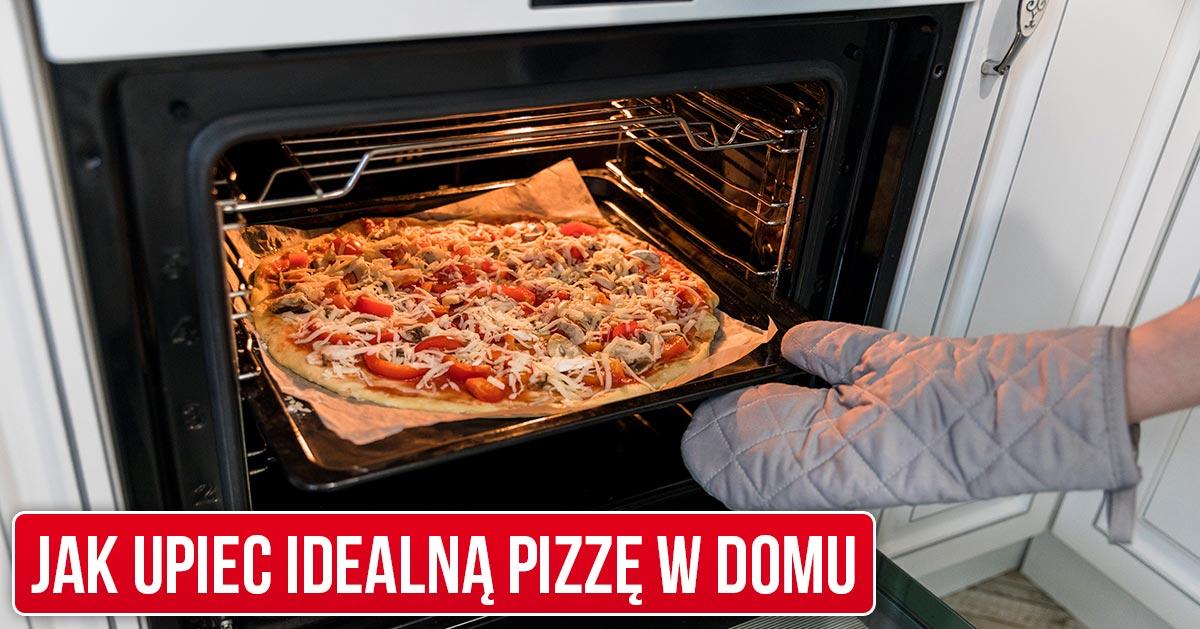 Prosty trik, dzięki któremu pizza wyjdzie jak z pizzerii nawet z domowego piekarnika