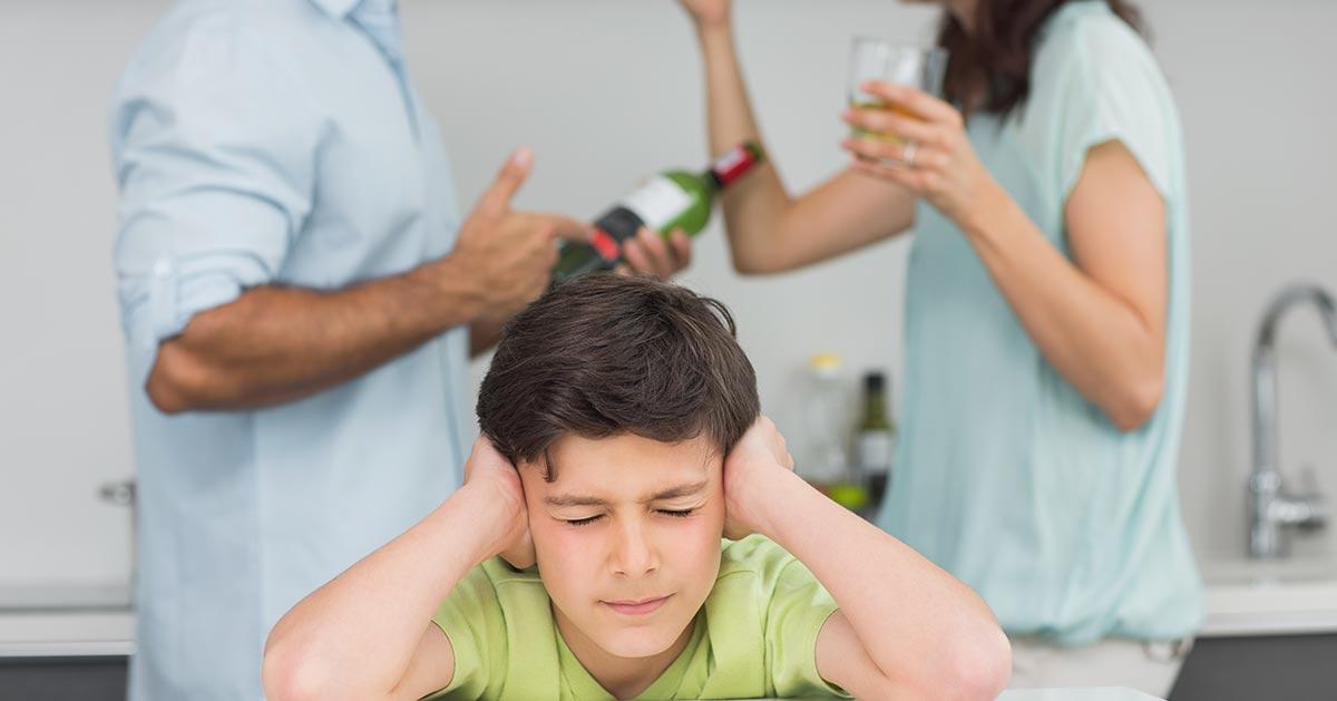Kłócicie się przy dziecku? Musicie o tym pamiętać!