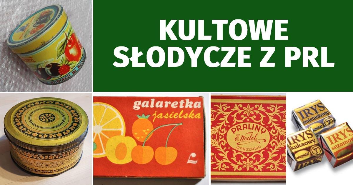 Kultowe słodycze z PRL – czy je jeszcze pamiętasz?