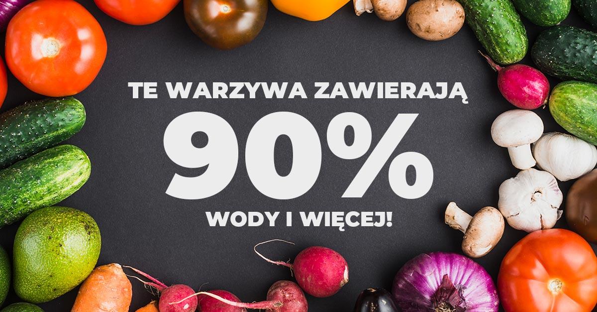 Te warzywa składają się głównie z wody. Możesz jeść je do woli!