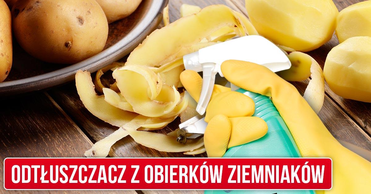 Przepis na odtłuszczacz z obierków od ziemniaków